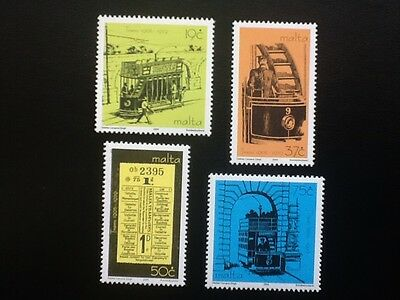 Malta 2004 Trams  set of four stamps Scott No 1169-1172  VF