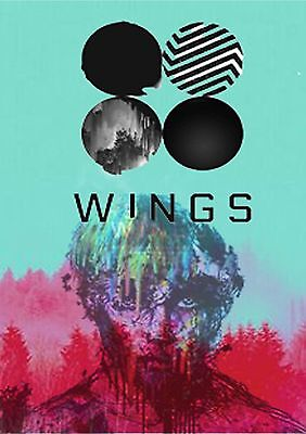 BTS V WING POSTER-A3 Size