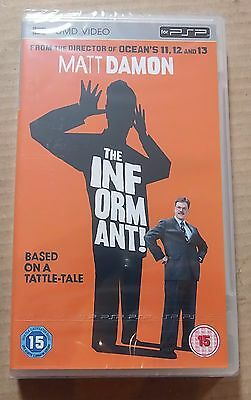 18 x The Informant  x 18 (New and Sealed) Sony PSP UMD Video Movie