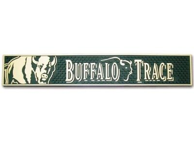 Buffalo trace whiskey rubber bar pub mat cocktails Game Room man cave