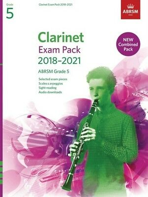 Grade 5  CLARINET EXAM PACK 2018 - 21  ABRSM Music Book