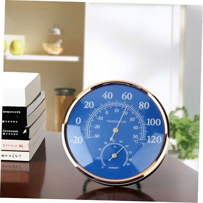 Large Round Thermometer Hygrometer Temperature Humidity Monitor Meter Gauge MH