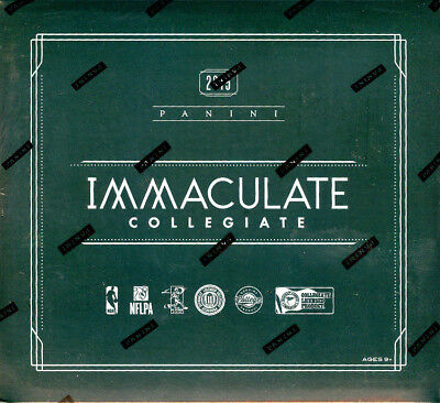 2015 Panini Immaculate Collegiate Multi-Sport Edition Trading Cards Hobby Box