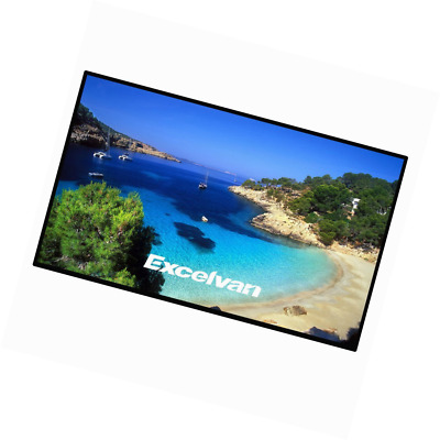 """Excelvan 120"""" 16:9 HD Projector Screen Outdoor/Indoor Portable and Collapsible P"""