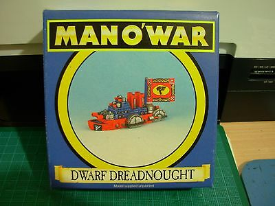 Fantasy Man o'War Dwarf Dreadnought Flagship in Original Box Rare OOP