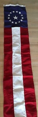 NEW USA 8 Foot Colonial Flag Patriotic 4th of July Flag Banner Decoration