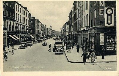 O'Connel Street Limerick Animated Street Scene