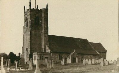 Staffordshire Chebsey Church Near Eccleshall Real Photo
