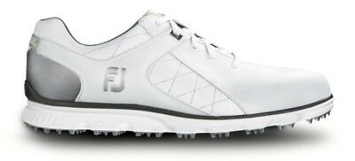 Foot Joy Pro SL Golf Shoe Men's Style#53579 White/Silver Pick Size