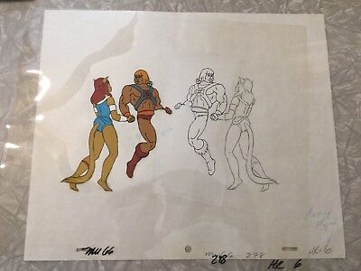 He-Man Masters Of The Universe Original Animation Cel, HE-MAN!
