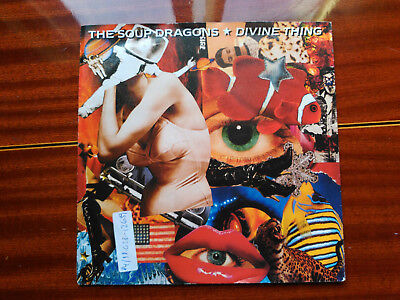 Single The Soup Dragons - Divine Thing - Big Life Europe 1992 Vg+
