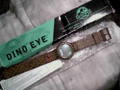 "1997 ""The Lost World"" Jurassic Park Dino Eye Burger King Watch"