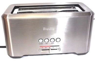 "Breville BTA730XL the Bit More 4 slice long slot toaster featuring ""Lift & Look"""