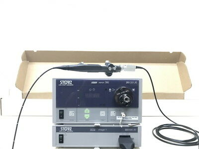 Storz Image 1 Console with 11302BDD2 Intubation Scope & Head 22260131 for ENT
