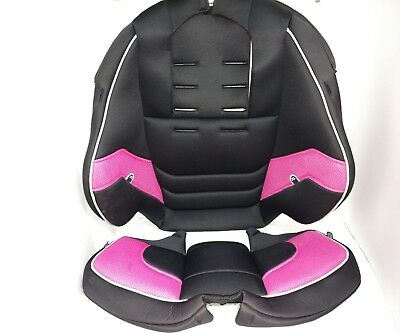 Evenflo 3 In 1 Pink Booster Car Seat Fabric Cover Cushion Model 344 11 695