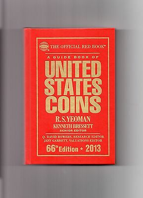 2013 66'th Edition R.s.yeoman The Official Redbook, New Book, U.s. Coin Guide
