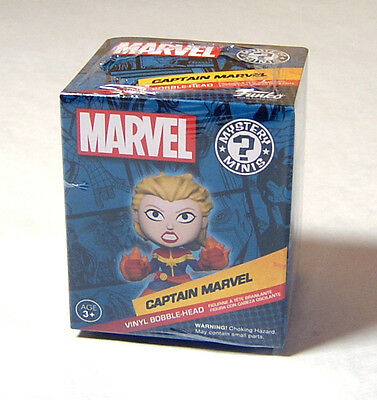 Marvel Collector Corps - Captain Marvel - EXCLUSIVE & NEW - Mystery Minis