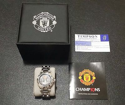 Official Manchester United watch, Limited Edition, NEW Battery
