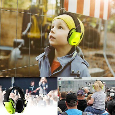 US MPOW Foldable Ear Muff Hearing Protection Noise Reduction For Children Kids