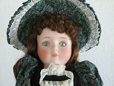 """Betty Jane Carter Porcelain Doll """"EMMA""""  Musical """"As Time Goes By""""   NIB"""