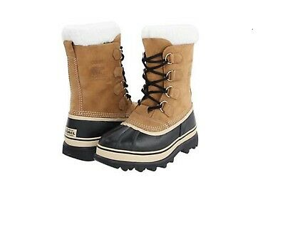 New Men's Sorel Caribou™ Buff Cold Weather Winter Boots SZ: 8-12 *NIB*