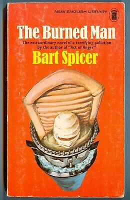 The Burned Man, by Bart Spicer - New English Library PB (1972)