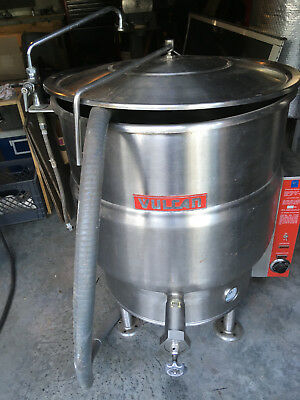 Vulcan Vel-40 Steam Kettle 40 Gallon 3 Phase Electric