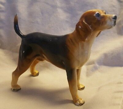 Mortens Studio Ceramic Beagle Dog Figurine