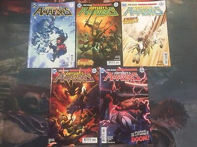 wonder woman Odyssey Of The Amazons Comic Lot