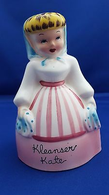 Vtg Napco Kleanser Kate Cleanser Dispenser Shaker #k2356 Japan W/stopper Cute!