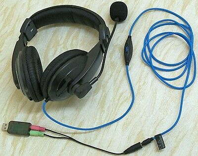 Trust Quasar Headset 16904-03 with USB 3D Sound Card
