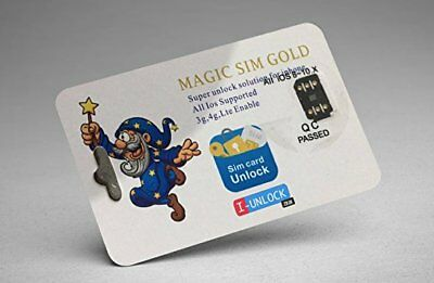 I Unlock ANY iPhone / Magic SIM Card Gold / R-SIM 11 / Q Sim / GPP Lte / Gevey