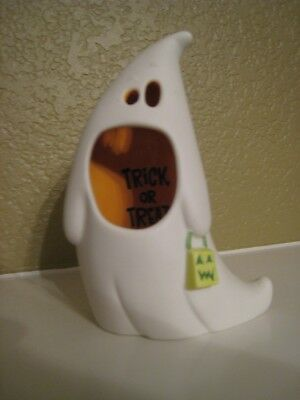 Hallmark Ghostly Tealight Cover ~ New