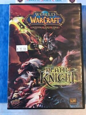 World of WarCraft Death Knight Deluxe Starter Used With 80 Cards