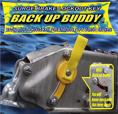 "Magnetic Lock Out Key Key For..atwood..type Surge Brakes ""back Up Buddy"""