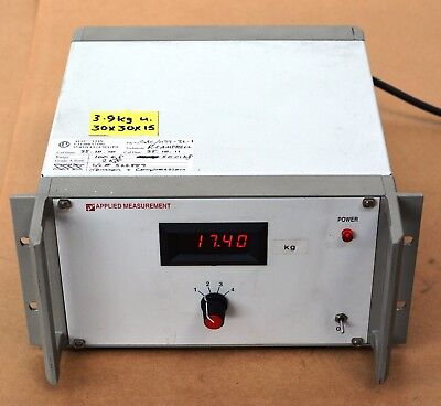 APPLIED MEASUREMENT 2044 Strain Gauge Amplifier/load cell weight force display
