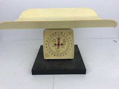 Vintage Sunbeam Nursery Baby Scale 25 Lb. - Made in the USA