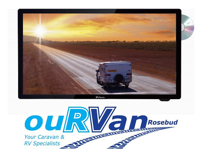 "CARAVAN 19"" HD LED TV RV MEDIA BY CAMEC DVD HDMI USB 12v 044477"