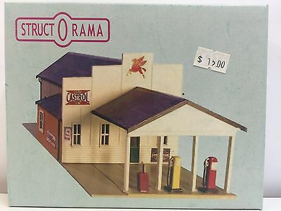 StructOrama, HO Scale Structure - COUNTRY GARAGE Kit
