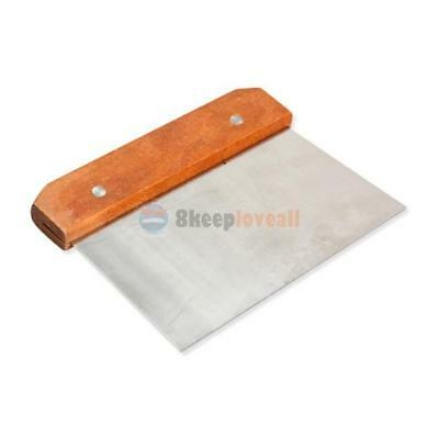 Hardwood Handle Soap Cutter Straight Stainless Wax Dough Slicer Soap Making Tool