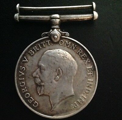 Extremely Rare!!! Nepal!! King George V War Medal Awarded To Nepalese Solders.