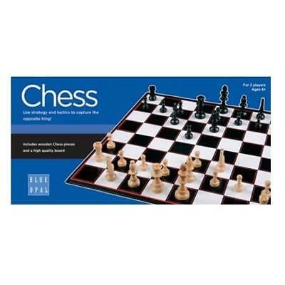 NEW Blue Opal - Chess Game