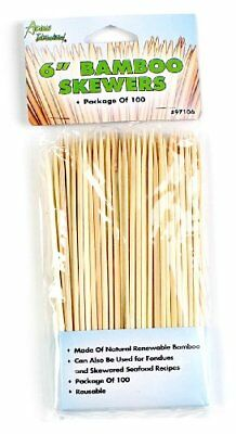 Bamboo Skewers 6 (PACK 1)