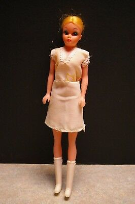 "Vintage 'mod Era' 'clone Barbie' 11"" Tall Doll With Original Outfit - Hong Kong"