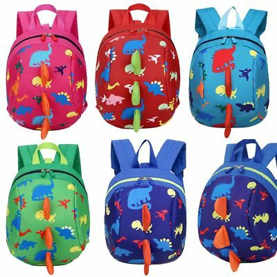 Child Walking Harness Buddy Backpack Kids Toddler Safety Leash Tether Strap Bags