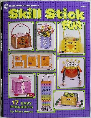 """Skill Stick Fun"" By Mary Ayres : Instructions to Create 17 Easy Craft Projects!"