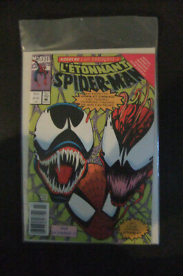 9.2 Nm- Near Mint- Amazing Spider-Man  # 363 French Euro Variant Wp Yop 1993