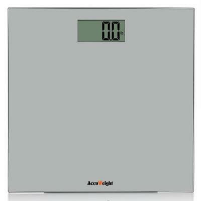 Accuweight Digital Bathroom Weight Scale with Smart Step-on Technology,...