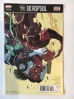 Marvel Comics: Deadpool #34 (2017) - BN Bagged and Boarded