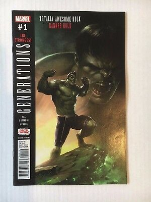 Marvel Comics: Generations The Strongest, Hulk #1 (2017) - BN Bagged & Boarded